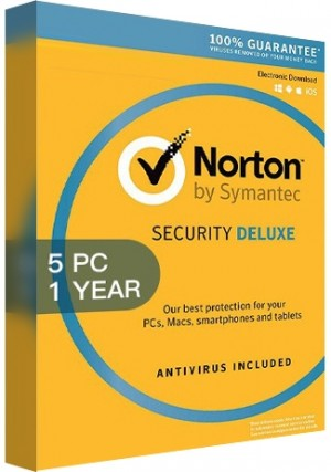Norton Security Deluxe 3 - 5 Devices/1 Year