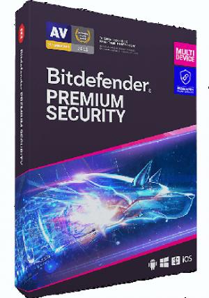 Bitdefender Premium Security 10 Devices / 1 Year