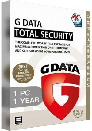 G Data Total Security / 1 PC (1 Year)