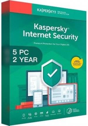 Kaspersky Internet Security Multi Device 2020 / 5 Devices (2 Years)