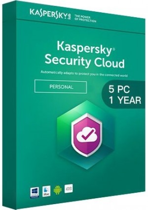 Kaspersky Security Cloud Multi Device / 5 Devices (1 Year)